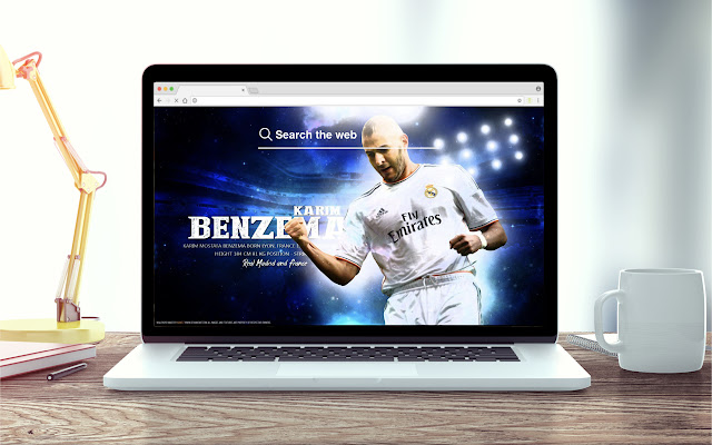 Benzema HD Wallpapers New Tab Theme