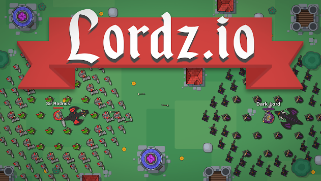 Lordz.io - Real Time Strategy Multiplayer IO Game