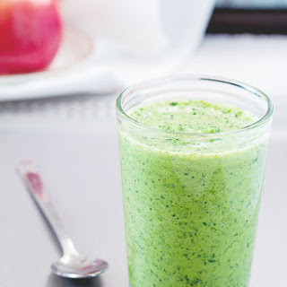 Orange Avocado Green Smoothie