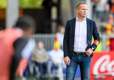 Wouter Vrancken is een tevreden man dankzij de winst en de mentaliteit bij zijn spelers