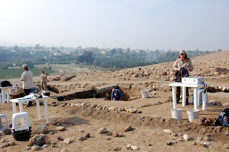 Photo: Lower Tall excavation squares