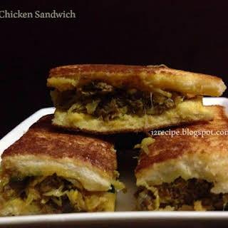 Stuffed Chicken Sandwich.