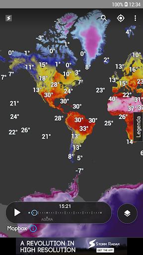 Storm Radar: mapa climático screenshot 8