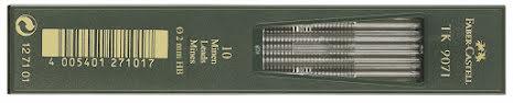 Stift Faber HB 2mm 10/tub