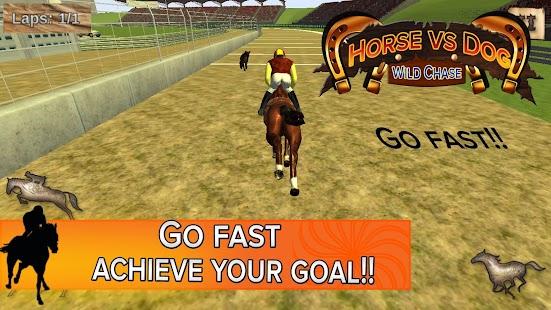 Horse VS Dog Wild Chase - náhled