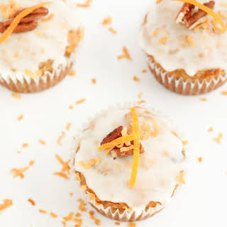Bake It - Orange, Coconut, and Pecan Banana Muffins.