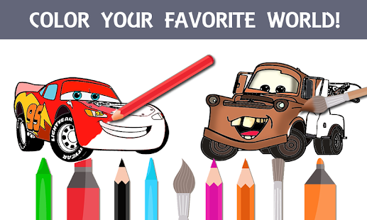 Mcqueen Coloring pages Cars 3 - náhled