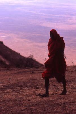 Masai nella Savana di Alfredo00
