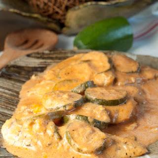 Creamy Italian Chicken and Zucchini Skillet Recipe