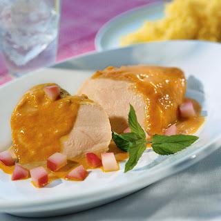 Hähnchen in Currysauce