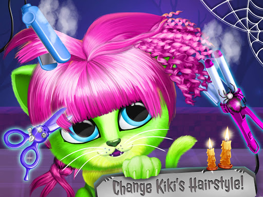 Kiki & Fifi Halloween Salon - Scary Pet Makeover 3.0.25 screenshots 24