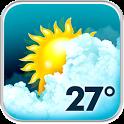 Animated Weather Widget, Clock icon