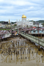 Photo: Mosque and the water village