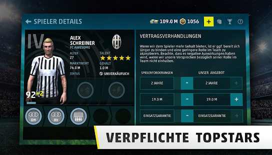 SEASON 18 - Fussball Manager Spiel Screenshot
