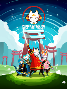 Masketeers : Idle Has Fallen Mod Apk Download For Android and Iphone 7