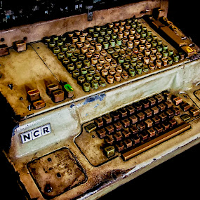 Old Account Machine by Erry Subhan - Products & Objects Business Objects ( indonesia, asia, jakarta, capitol city )