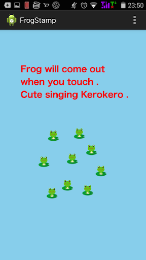 App for babies who like frogs
