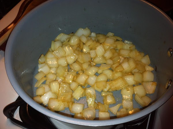 Saute onions in butter in a medium sauce pan about 2-3 minutes or until...