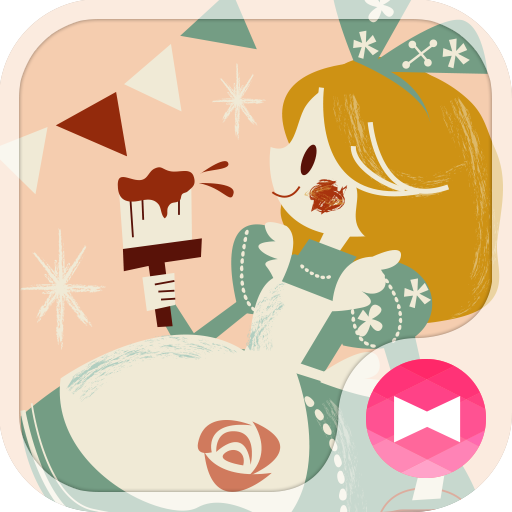 Cute Theme Alice & The Castle Icon