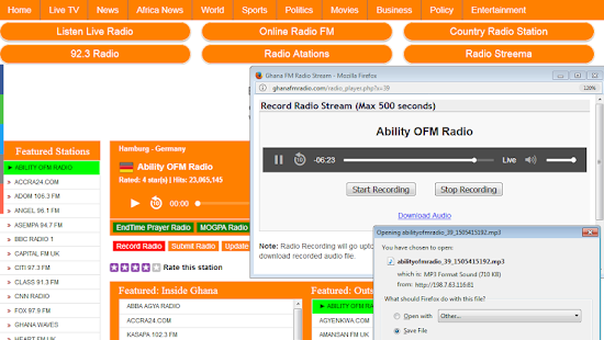ALL GHANA FM RADIO STATIONS- screenshot thumbnail