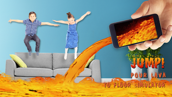 Nalijte Lavu do Simulátoru podlah - náhled