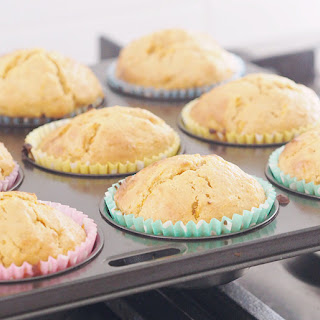 Honey and Carrot Muffins.