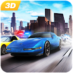 Chase Gangster Car: Police Car Driver Simulator 3D Icon