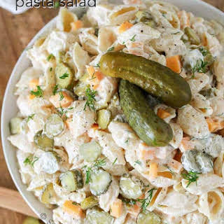 Dill Pickle Pasta Salad Recipes.