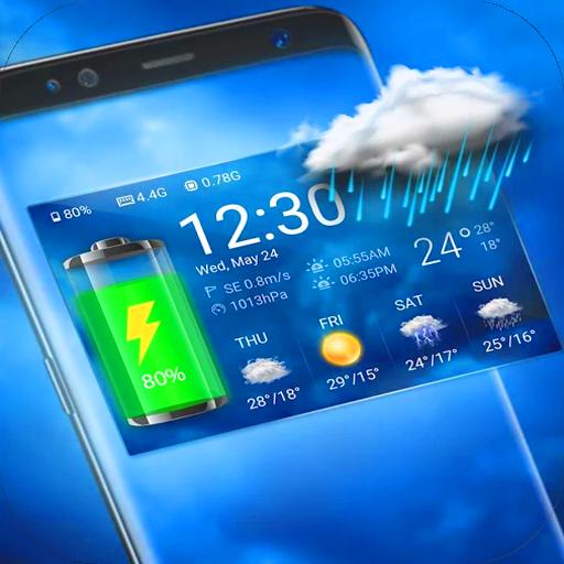 Best Weather Widget & Battery Checker New 2017