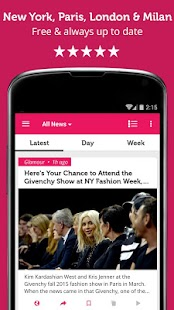 Fashion Week News & Videos- screenshot thumbnail