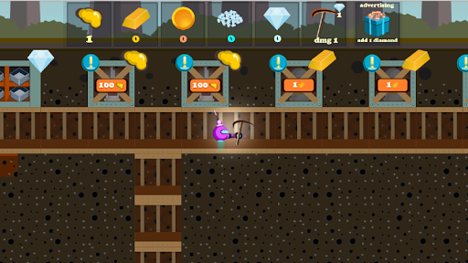 Robot Digger screenshot 3
