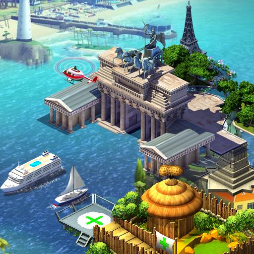 2048 Empire of Building: Civilization City Puzzle