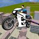 警察バイクシミュレータフライング