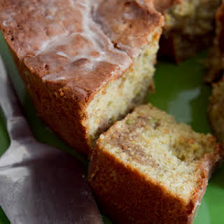Pistachio Sour Cream Coffee Cake