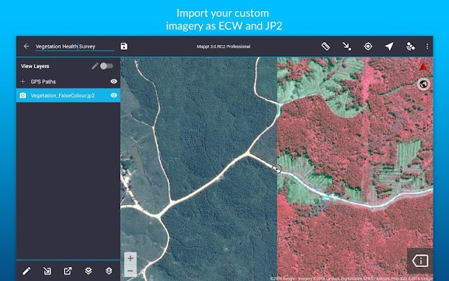 Mappt: GIS Data Collection - screenshot
