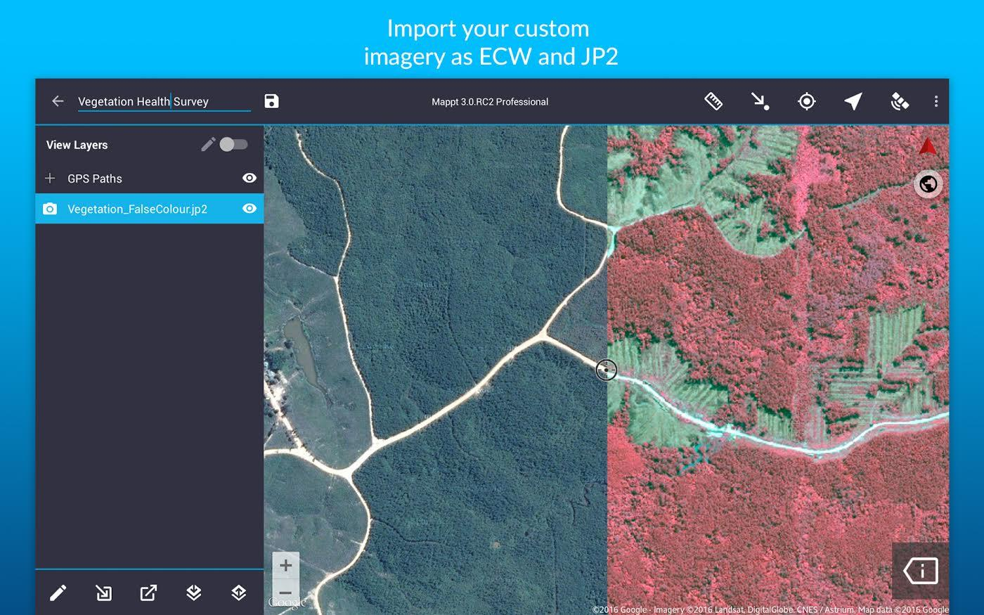 Mappt: GIS Data Collection- screenshot