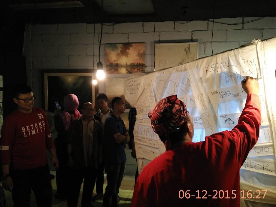 Gerobak Aspirasi Kedutaan Besar Bekasi Galeri Seni BE(kasi) YOURSELF
