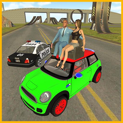 Pick Up Girls Mini Car: City Police Chase