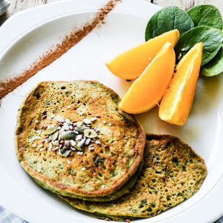 Gluten Free Spinach Pancakes Recipes