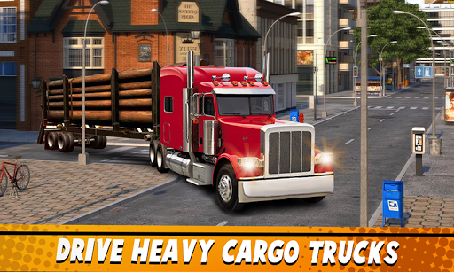 Euro Truck Simulator 2 : Cargo Truck Games 1.6 screenshots 1