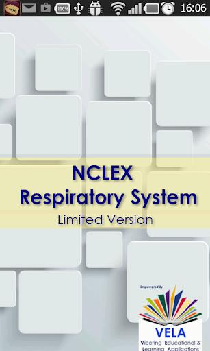 NCLEX Respiratory System exam