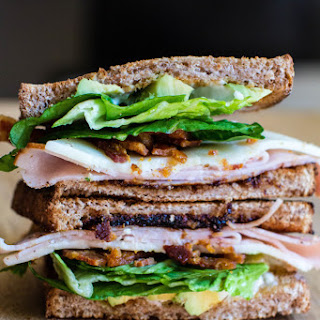 Turkey and Bacon Sandwich with Tomato Jam