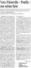 Photo: 08-12-95 N2F Yutz-Thionville reçoit Pouilly