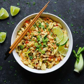 Thai Pasta with Chicken.