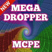 Mega Dropper map for MCPE
