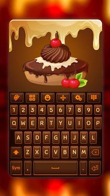 Sweet Chocolate Candy Keyboard - screenshot