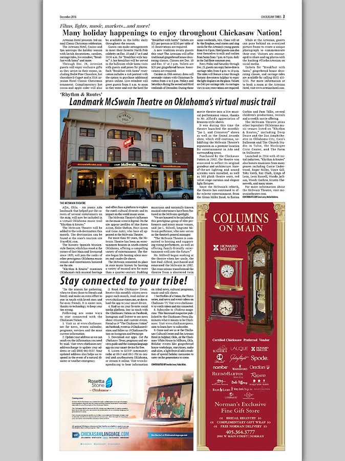 Chickasaw Times- screenshot