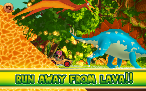 Fun Kid Racing Dinosaurs World screenshot 2