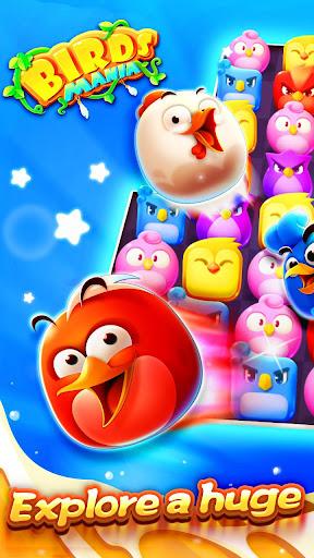Birds Mania Match 3 screenshot 1