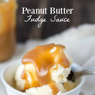 Peanut Butter Fudge Sauce.